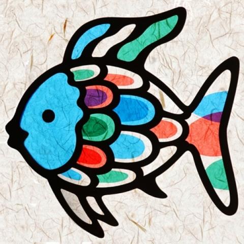 윈도우아트_물고기