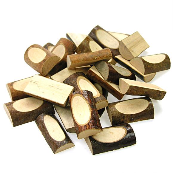 천연나무조각(R) 파임형_100g