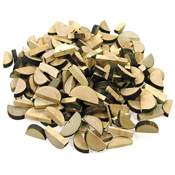 천연나무조각(K) 반원형_100g