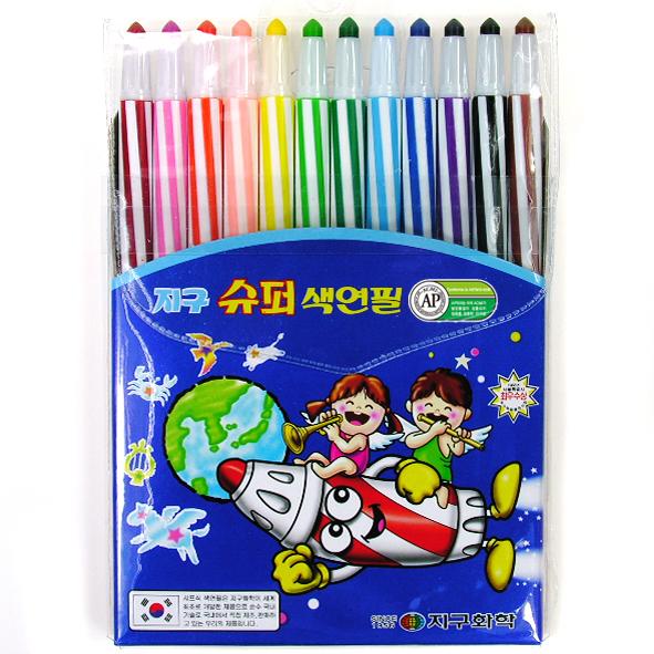 색연필_12색