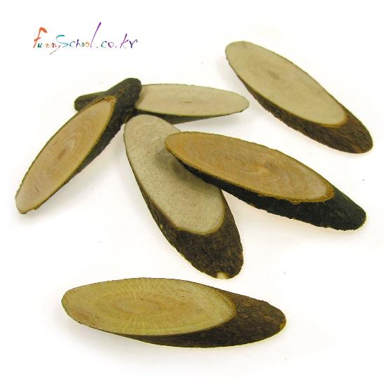 천연나무조각(C) 타원형_100g