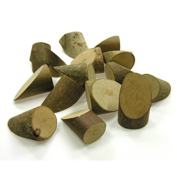 천연나무조각(아) 엄지형_100g