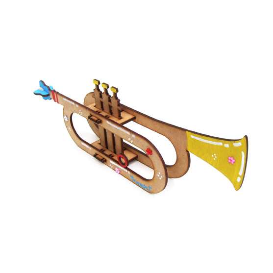 트럼펫만들기